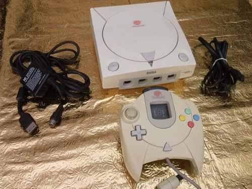 Consola sega dreamcast completa, accesorios, 5 juegos gratis