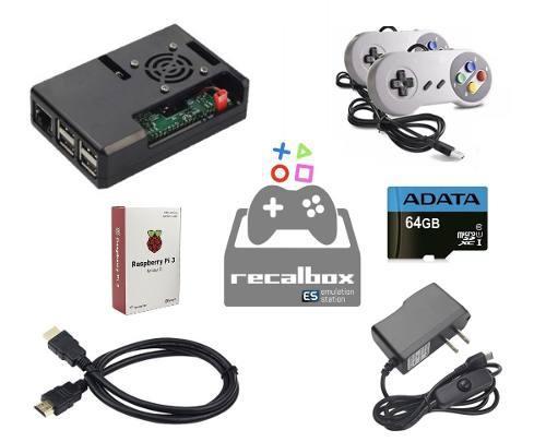 Mini consola raspberry pi 3b nintendo sega play +6000 juegos