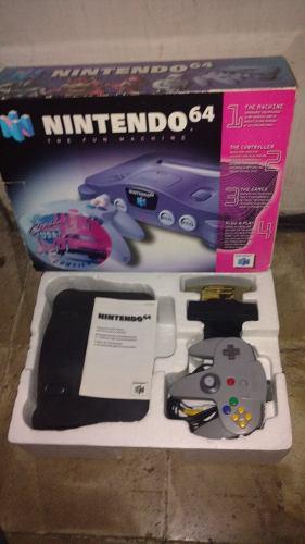 Nintendo 64 en caja completo excelente estado control cables