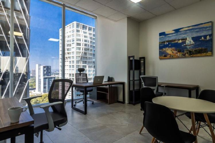 Renta de oficina física $9,450 mensual en la mejor zona