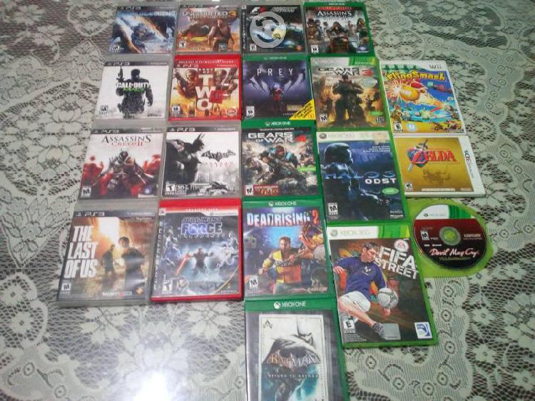 Varios videojuegos