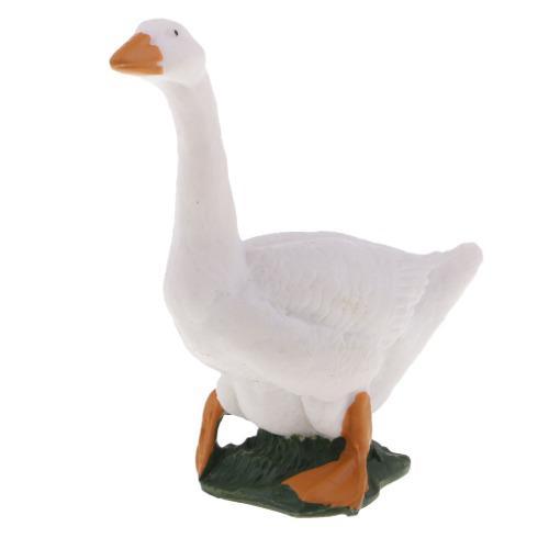 Animales modelo de cuerpo de aves acuáticas figura de pato