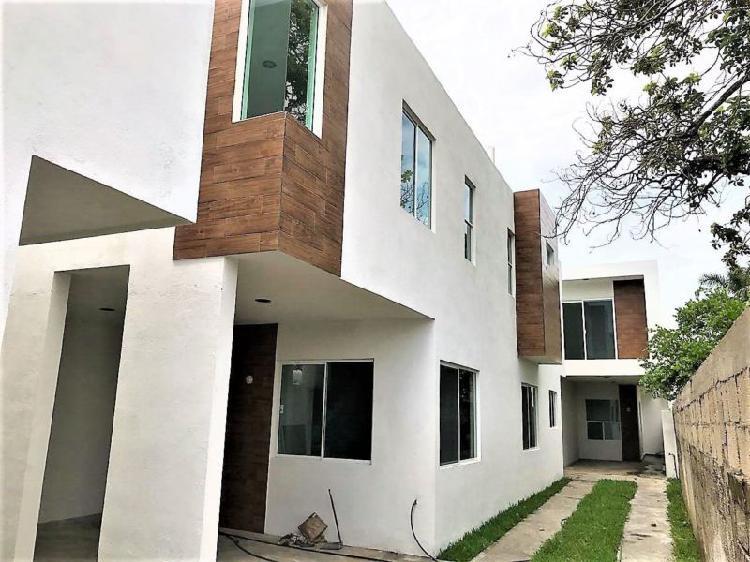Casa nueva en venta, col. guadalupe victoria (el golfo).