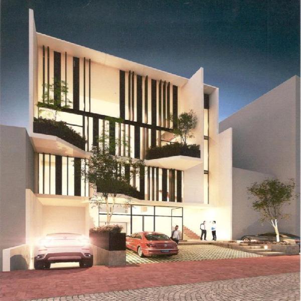 Renta de oficina en edificio corporativo con terraza av coba