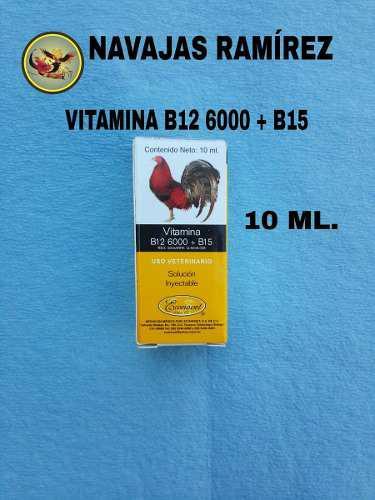 Vitaminas para gallos