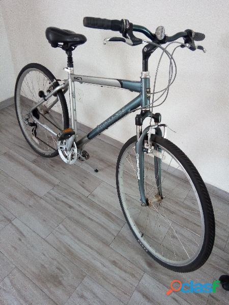 Bicicleta north rock ediciin limitada, porta rhino para tres pkegable