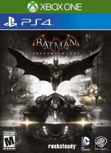 Batman arkham knight - playstation 4 - xbox one - sellado