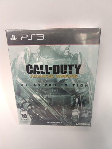 Call of duty advanced warfare atlas pro edition ps3 nuevo !!