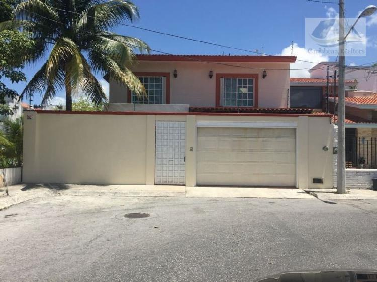 Casa en venta en cancún centro / house for sale in cancun