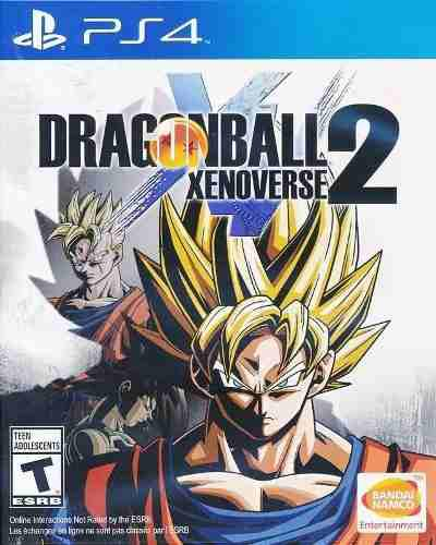Dragon ball xenoverse 2 - playstation 4 nuevo sellado