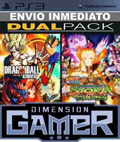 Dragon ball xenoverse + naruto storm revolution ps3 digital