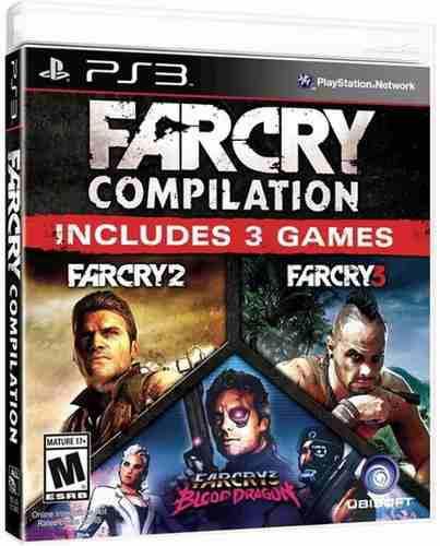Far cry compilation ps3 playstation 3 nuevo y sellado juego