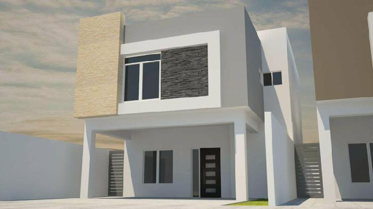 Hermosas viviendas con materiales térmicos en la dalia