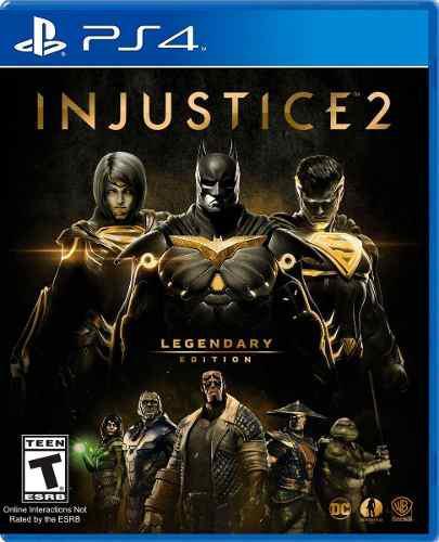 Injustice 2 legendary edition en ps4. nuevo y sellado.