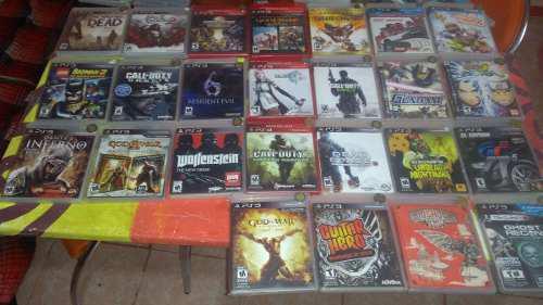 Juegos de play 3 (need for speed,naruto,dead space,castlevan