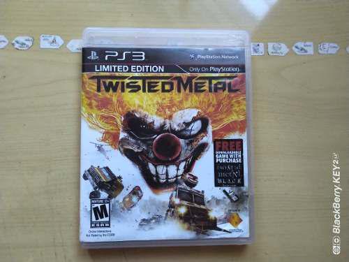 Juegos ps3 twisted metal