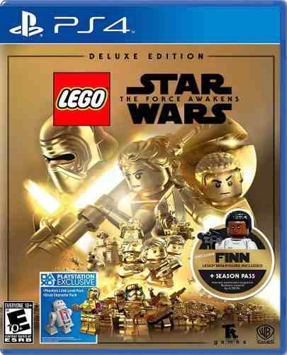 Lego star wars the force awakens delux editions ps4