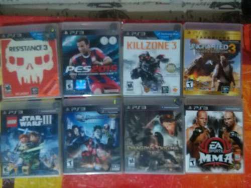 Lote de juegos ps3 el que le guste precio x cada juego