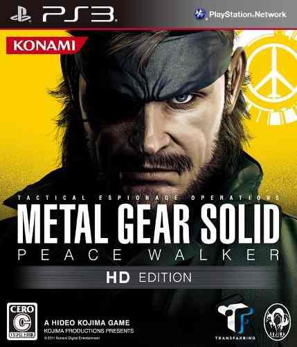 Metal gear solid + peace walker ps3 juegos 2x1
