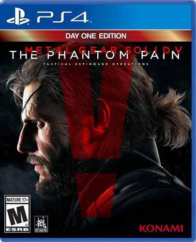 Metal gear solid v phantom pain day one ps4 nuevo