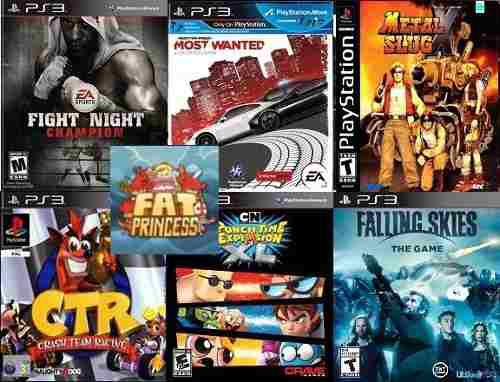 Need for speed most wanted + ctr+metal slug x + 4 juegos ps3
