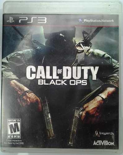 Ps3 call of duty black ops $275 seminuevo - mikegames