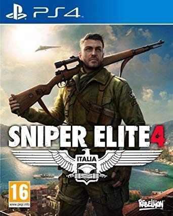 Ps4 - sniper elite 4 - juego fisico (mercado pago)