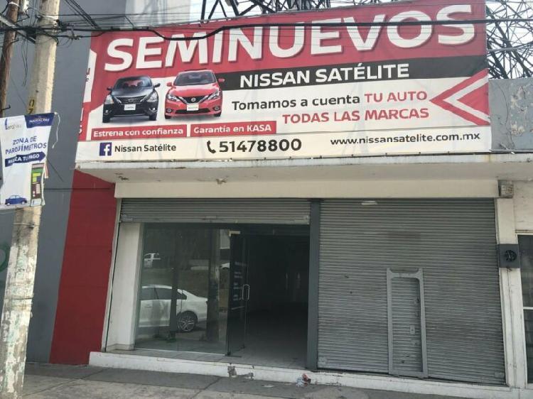 Renta local comercial la florida satelite naucalpan