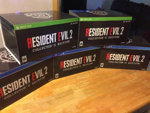 Resident evil 2 edicion de colección ps4!!
