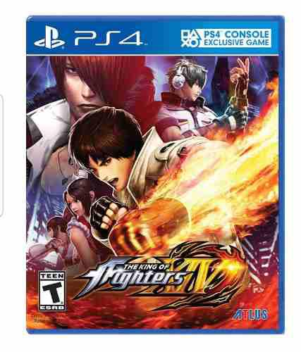 The king of fighters xiv ps4 juego fisico