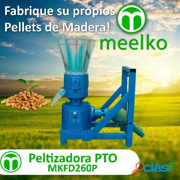 Máquina para pellets con madera 260 mm pto