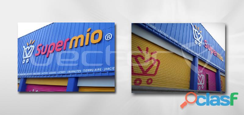 Venta de anuncios luminosos en puebla, vector diseño