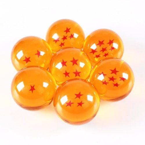 7 esferas dragon ball z gt super 4 4cm con caja goku