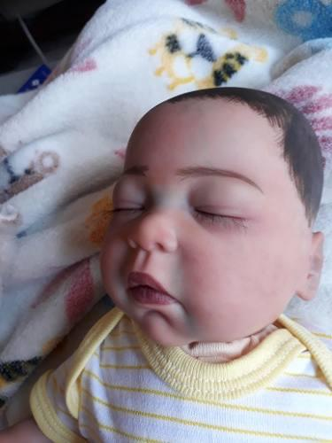 Bebe reborn vinil nacional prematuro en $890 pesos!