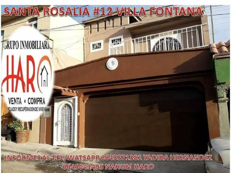 Casa en venta excelente zona muy amplia en villa fontana