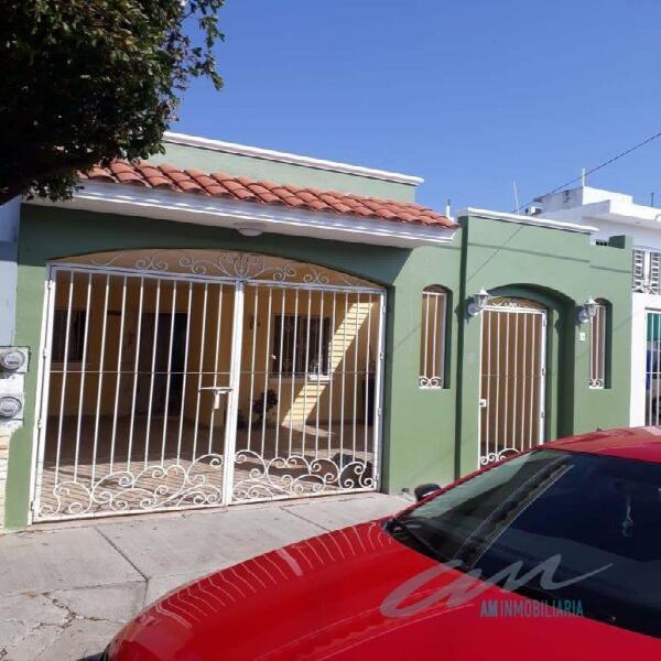 Casa sin muebles en paseo alameda, mazatlan sinaloa