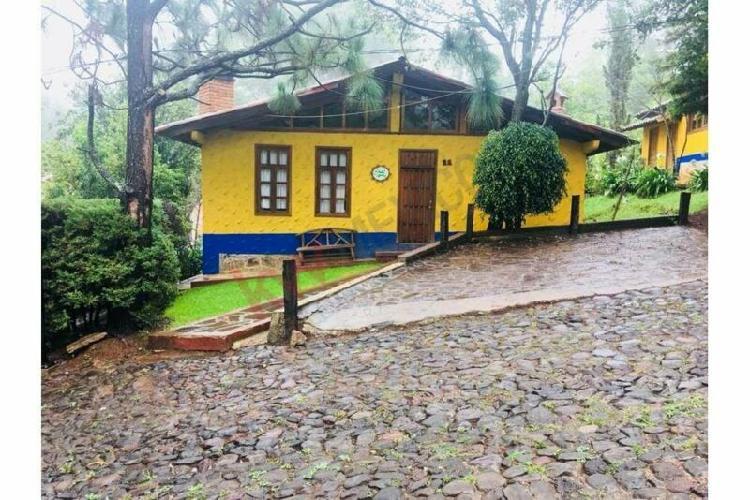 Cabaña en venta a dos cuadras de la plaza de mazamitla,