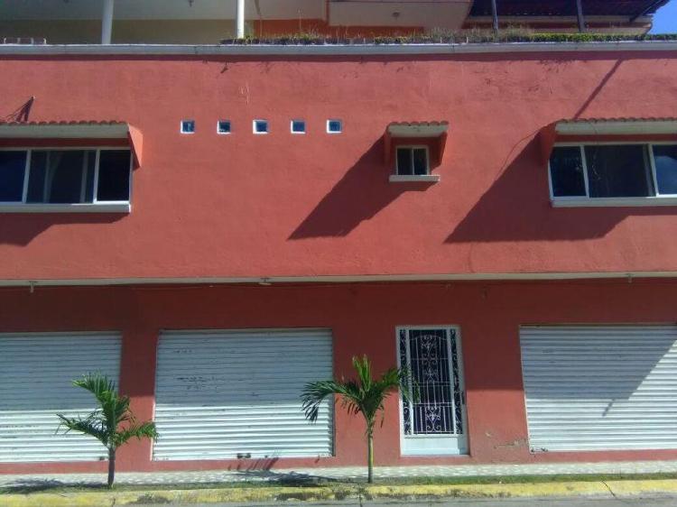 Departamento amueblado en renta en comalcalco