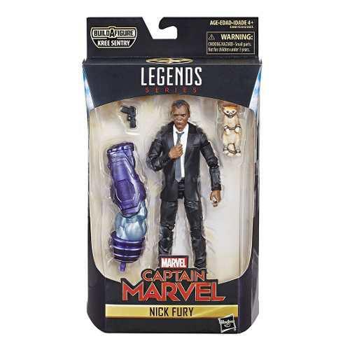 Figura acción coleccionable legends captain marvel hasbro