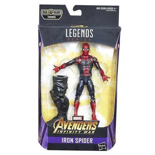 Iron spider avengers infinity war thanos marvel legends ugo