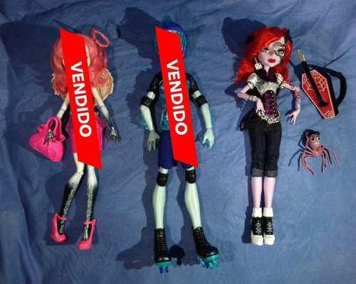 Lote muñeca monster high 460c/u cupido operetta basica