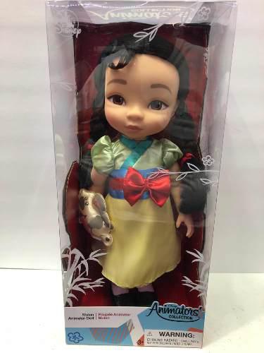 Muñecas de disney animators mulan envio inmediato