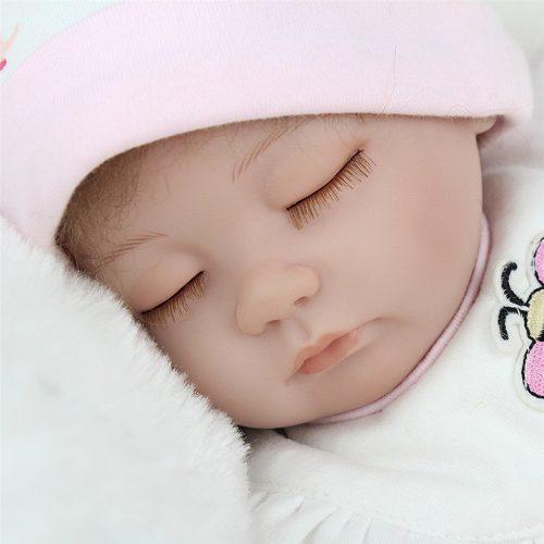 1f191e398 Original bebe reborn 42 cm tela abeja almohada envio grati