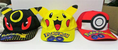 Pokemon go gorra pikachu pokebola eevee fiesta mayoreo!