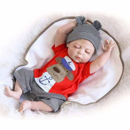 Sanydoll bebé reborn muñeco de vinilo d silicona 22