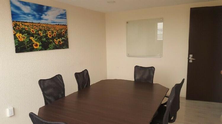 Oficina amueblada y virtuales