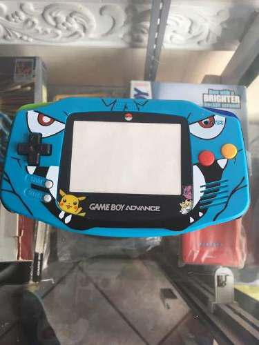 Carcasa gameboy advance edición pokemon ruby fire red gba