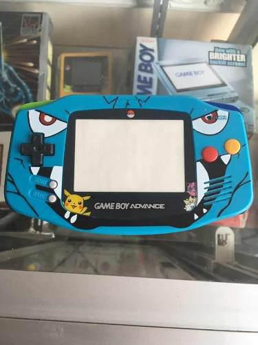 Gameboy advance carcasa edición pokemon sapphire esmeralda