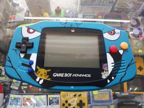 Gameboy advance con carcaza edicion pokemon (envio gratis)