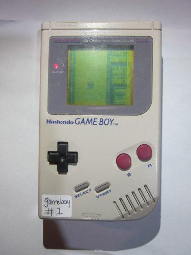Gameboy clasico le faltan lineas, si tiene tapa de baterias